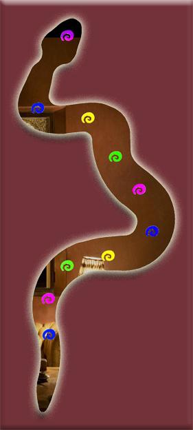 Serpent zig zag for Miroir zig zag